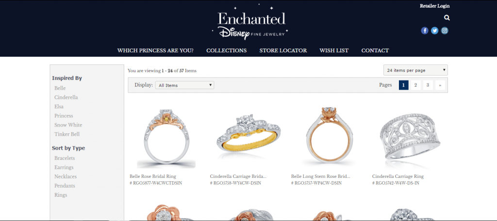 Precision Diamonds - Disney Enchanted Fine Jewelry Reno